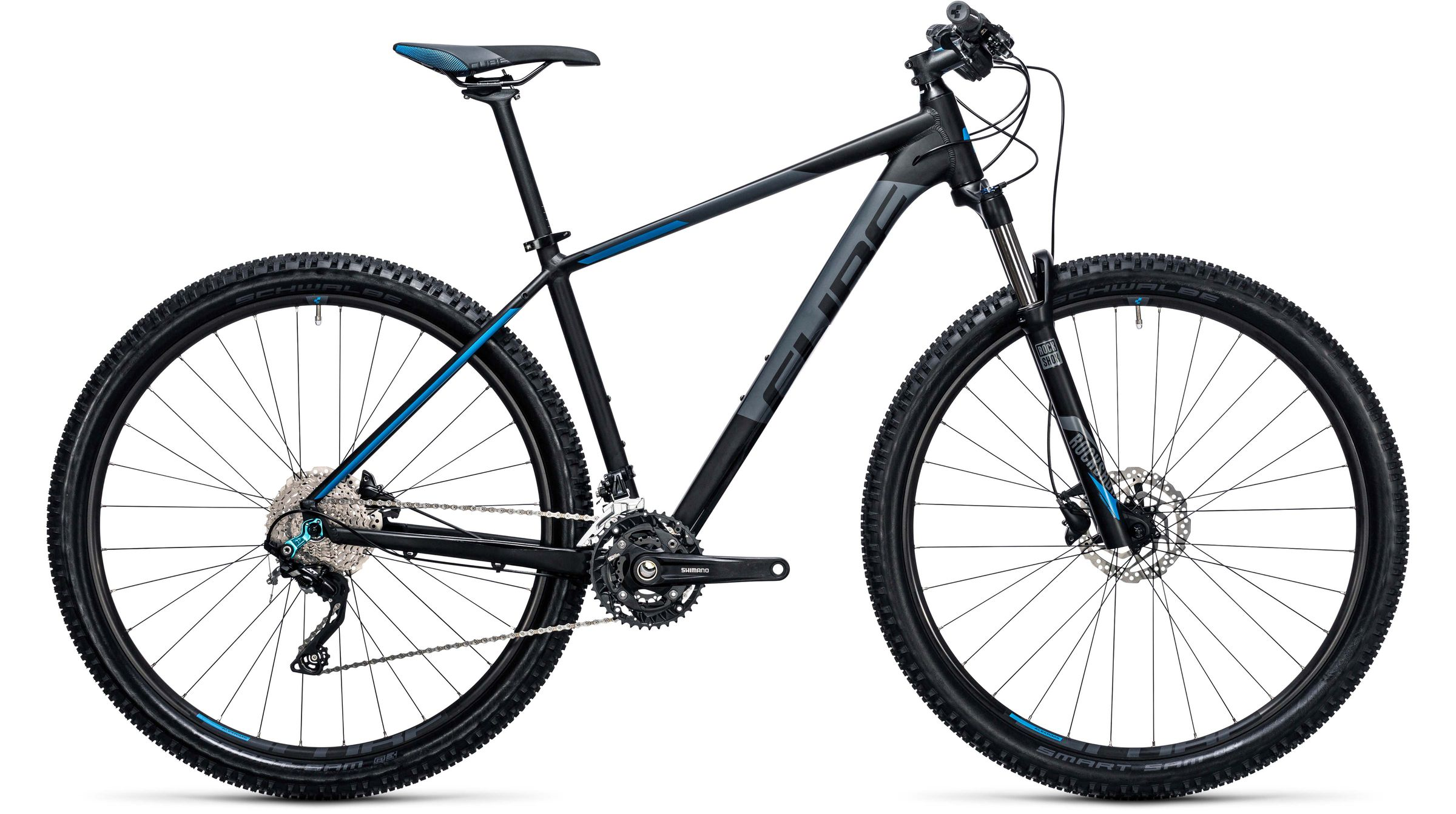 Cube Attention black n blue MTB Hardtail 2017