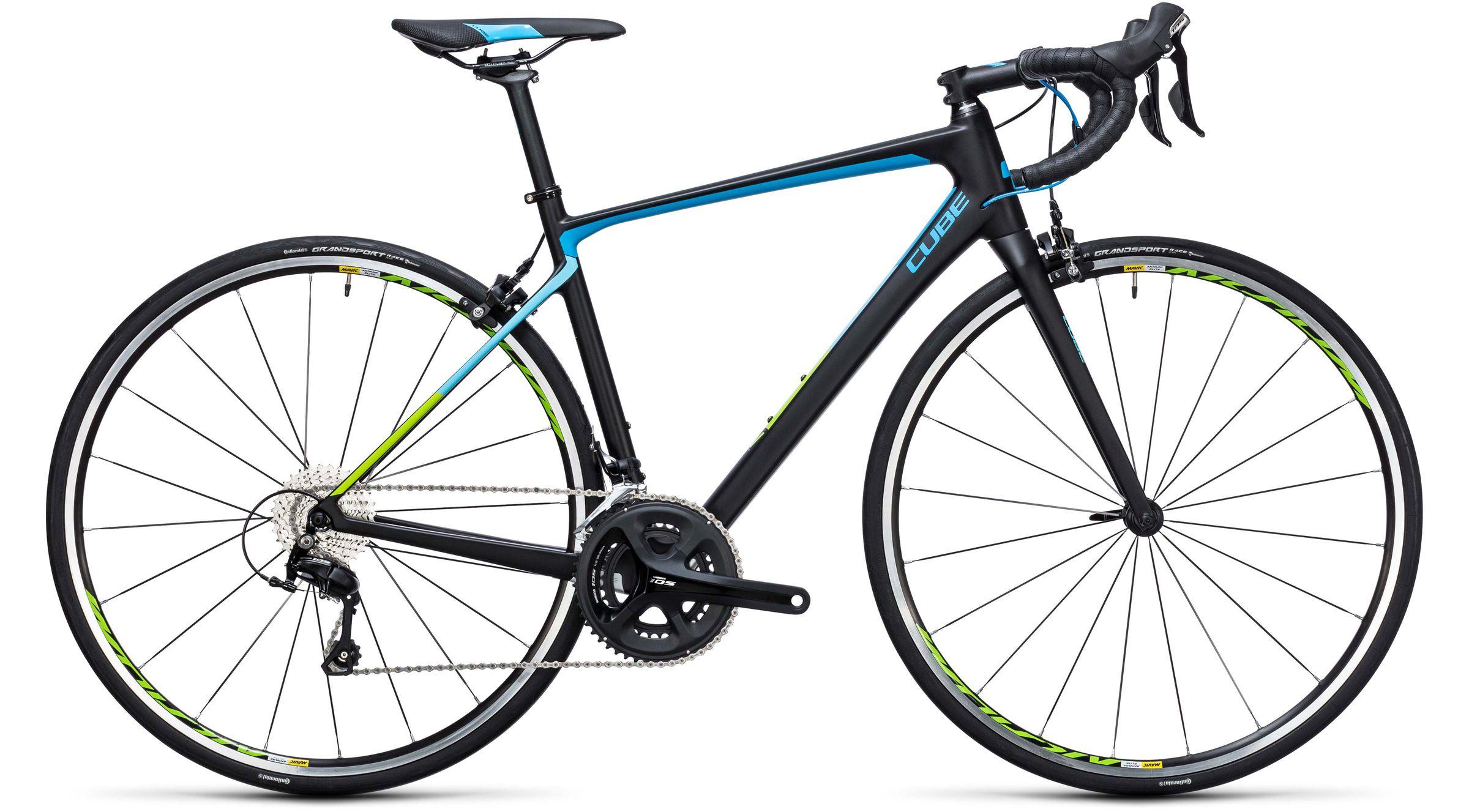Cube Axial WLS GTC Pro carbon n blue Rennräder Damen 2017