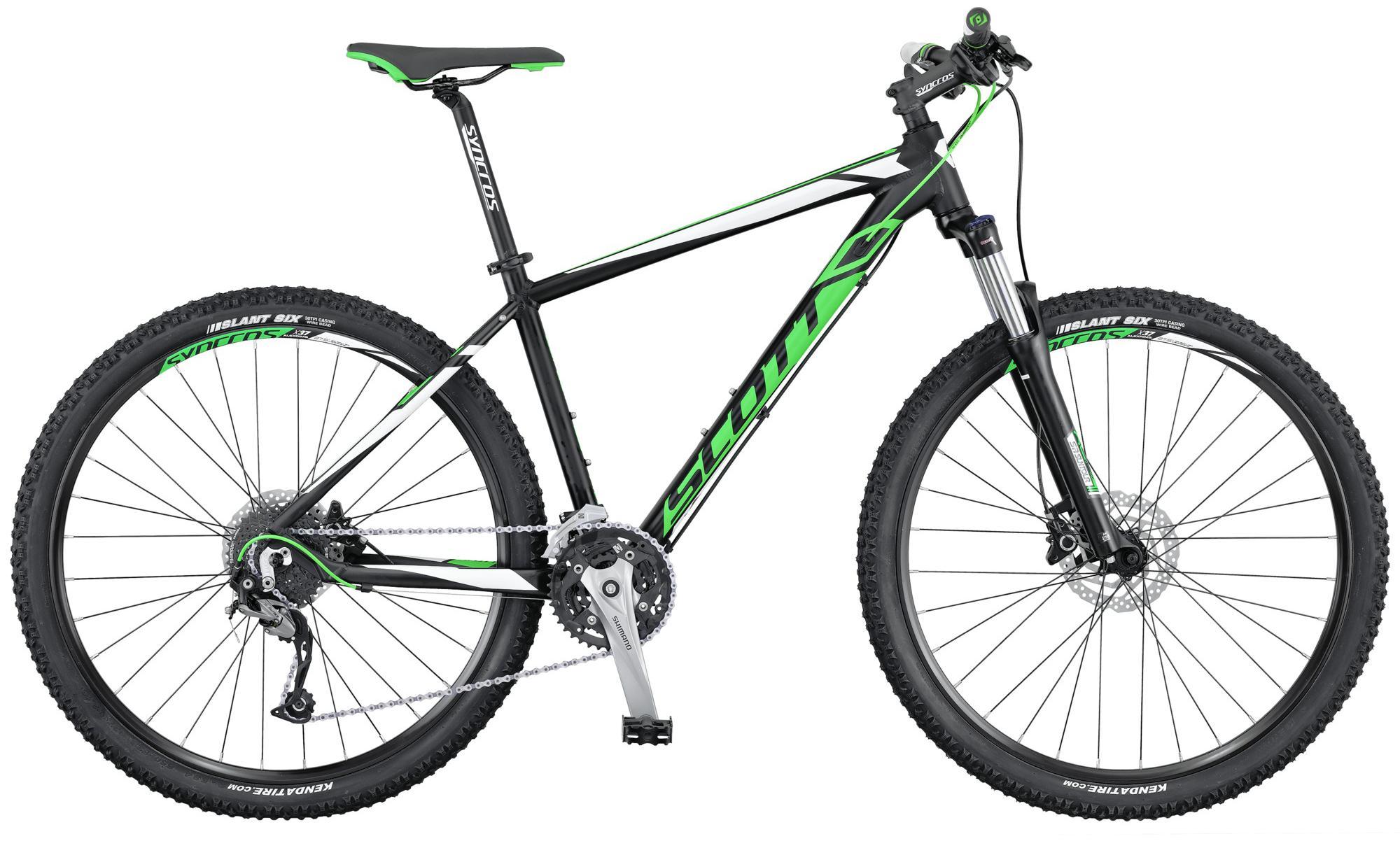 Scott Aspect 740 black/green/white MTB Hardtail 2016
