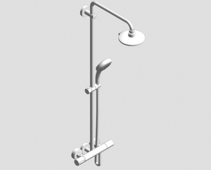 Grohe Power & Soul System 190 Shower System With