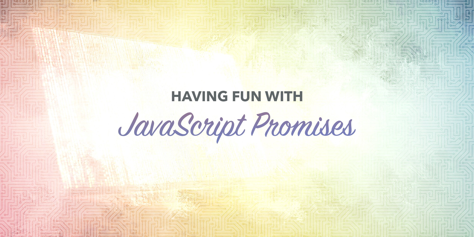 Improve async programming with JavaScript promises