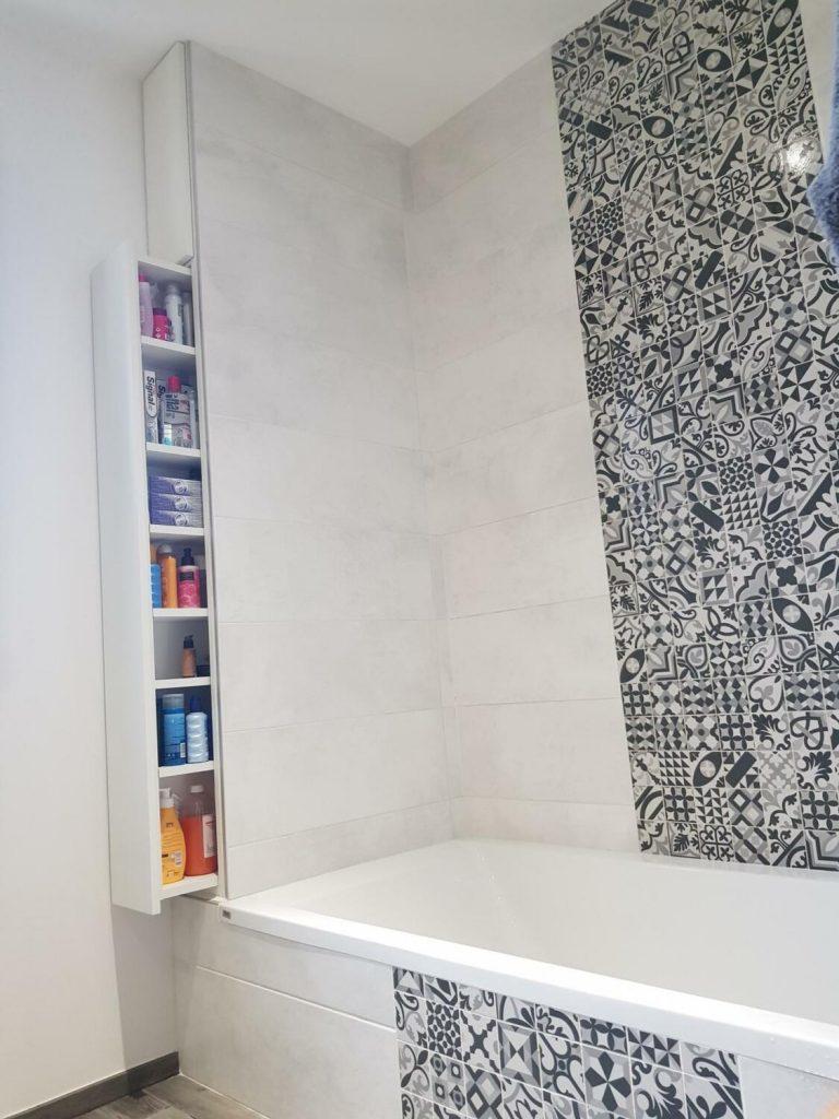 Carreaux De Ciment Dans La Salle De Bain 20 Idees Inspirantes Kozikaza