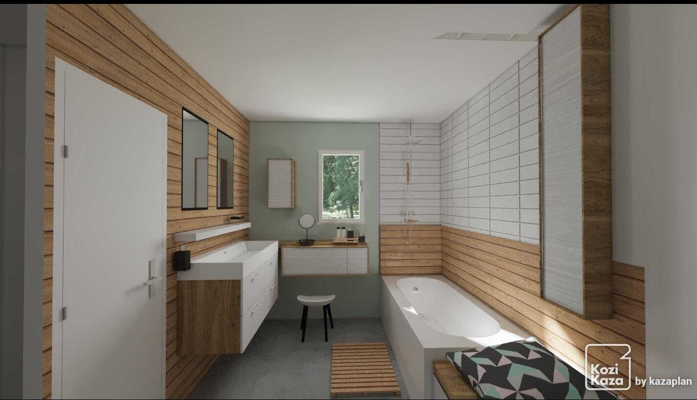 Le Bois Dans La Salle De Bain 30 Idees Pour Vous Inspirer Kozikaza
