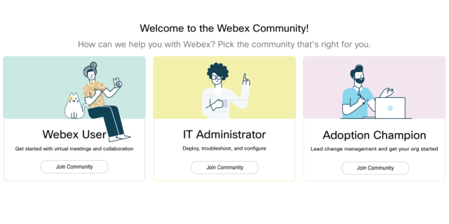 Welcome to the New Webex Community