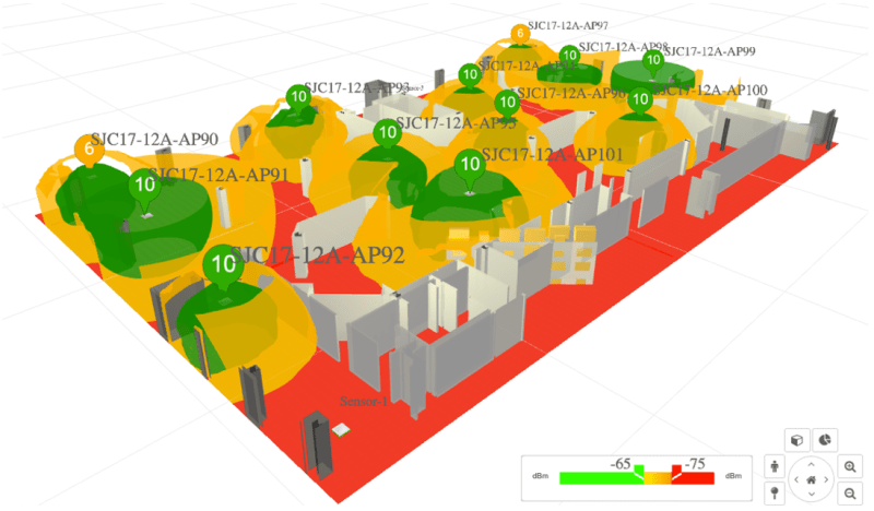 Planning Prediction (iso-surfaces view)