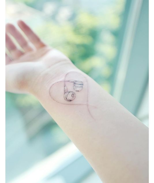 Heart tattoo by Banul