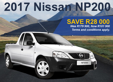 2017 Nissan NP 200 special - Save R28 000