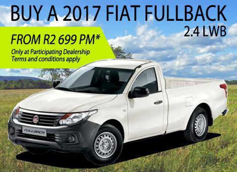 2017 Fiat Fullback 2.4 Long Wheel Base special