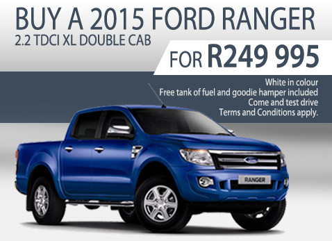 2015 Ford Ranger 2.2 TDCi XL Double Cab Special