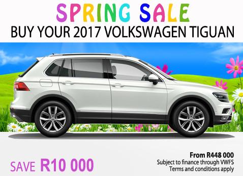 2017 Volkswagen Tiguan - Save R10 000