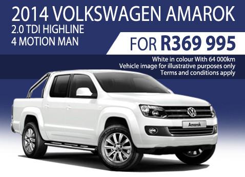 2014 Volkswagen Amarok 2.0 TDi Highline 4 Motion Manual special
