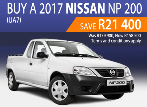 2017 Nissan NP 200 special - Save R21 400