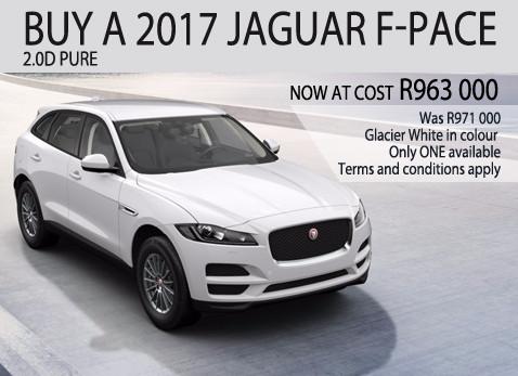 2017 JAGUAR F-PACE 2.0D PURE