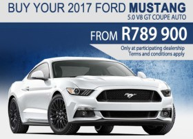 2017 Ford Mustang 5.0 V* GT Coupe special offer