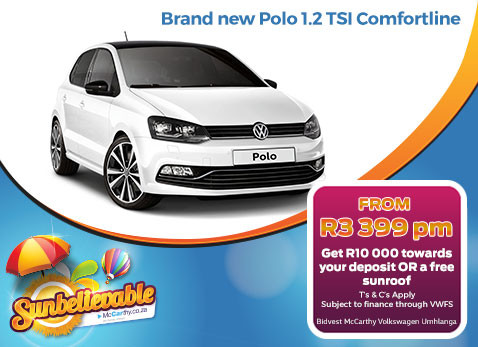 BRAND NEW POLO 1.2 TSI COMFORTLINE - R10 000 Deposit Assistance