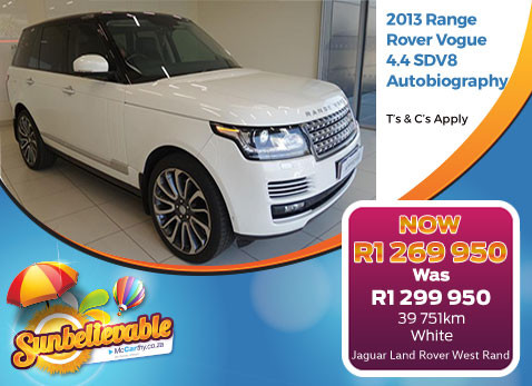 2012 RANGE ROVER VOGUE 4.4 SDV8 AUTOBIOGRAPHY - Save R30 000