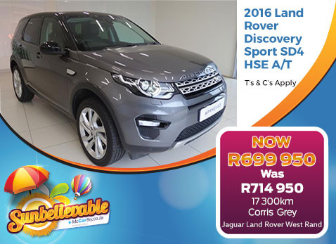 2016 LAND ROVER DISCOVERY SPORT SD4 HSE A/T - Save R15 000