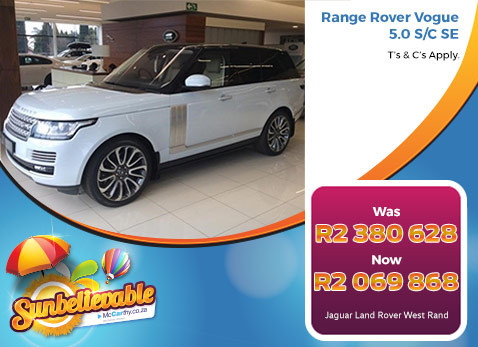 RANGE ROVER VOGUE 5.0 S/C SE - Save R310 760