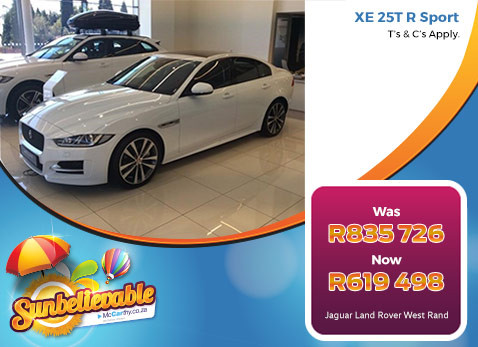 Jaguar XE 25T R SPORT - Save R216 228