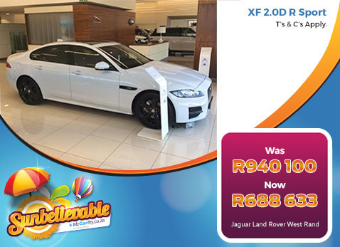 Jaguar XF 2.0D R SPORT  - Save R251 467