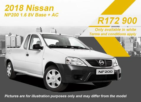 2018 NISSAN NP200 1.6 8V BASE PLUS special