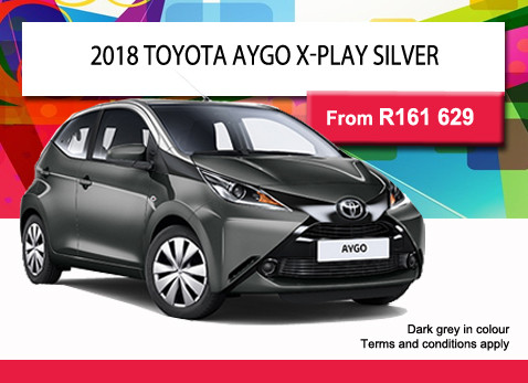 2018 TOYOTA AYGO X-PLAYER from R161 629
