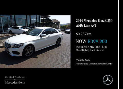 Used 2014 MERCEDES-BENZ C250 AMG LINE A/T