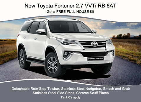 NEW TOYOTA FORTUNER 2.7 VVTI RB 6AT