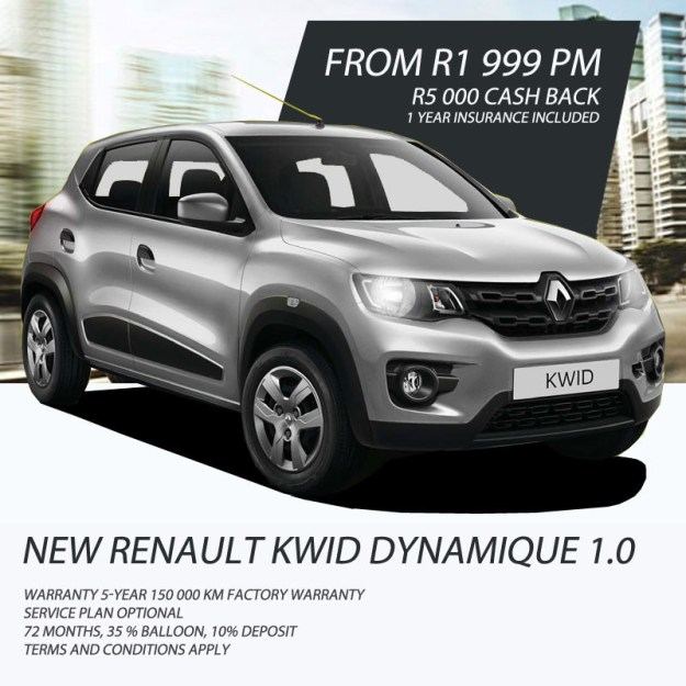 New Renault Kwid Special offer