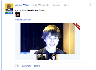 Google+ Hangouts on Air : A Live Broadcast Feature With Recording to Youtube Launched for Some Users!