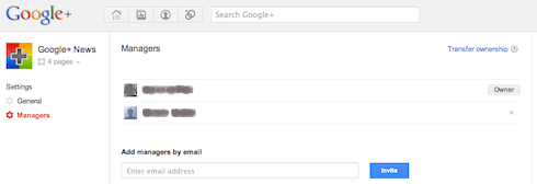 Google+ Pages : Multiple Managers/admins, Transfer Ownership, Delete Page and New Notifications Released!