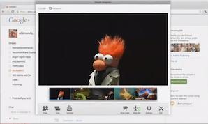 Muppets Google+ Hangout
