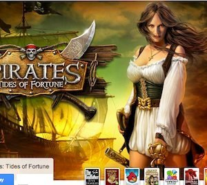 Pirates Tides of Fortune game on Google+