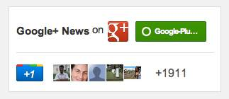 Customize Google+ Badge / Widget With Width Height and Color Themes, Size Is Deprecated!