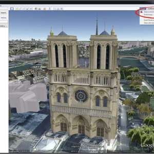 Google earth gets Google+ share option
