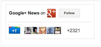 Auto Expanding of +1 Google+ Share Box and Follow Button on Google+ Badge Coming Soon