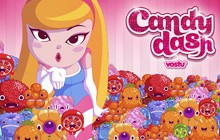 Candy Dash game on Google+