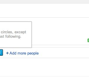 Customizing Your Circles in G+