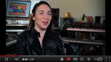 Google+ Hangout Sensation Singer and Songwriter Daria Musk's Success Story [Video]
