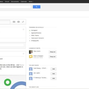 Google+ with whitespace on high resolution monitors