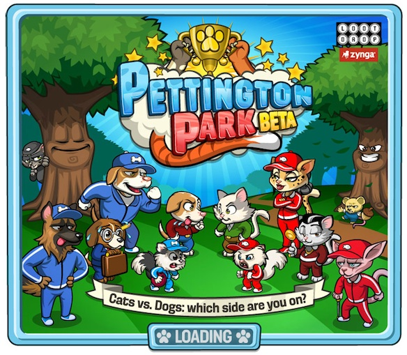 Pettington Park Game From Zynga Games on Google+