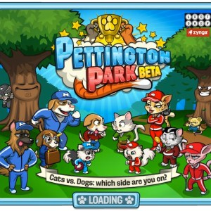 Zynga games today released pettington park on google+ games