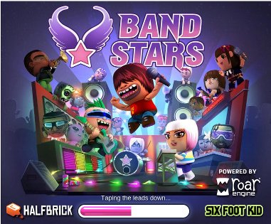 Band Stars Game on Google+ Social Games