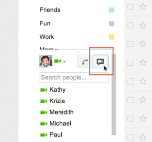 Peer to peer gmail video chat replaced with modern hangouts technology