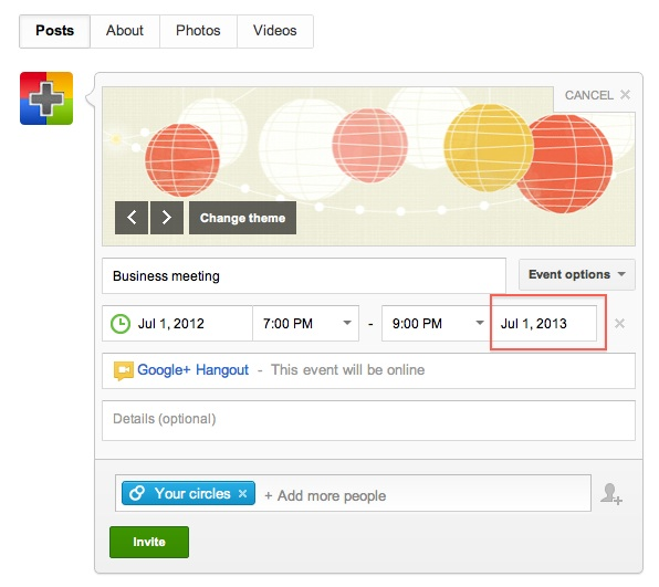 How to Bookmark Google+ Hangout Link or Url to Use Again and Again?