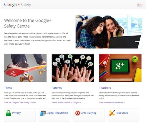 Learn How to Be Safe on Google+ : Safety Guides for Teens, Parents and Teachers