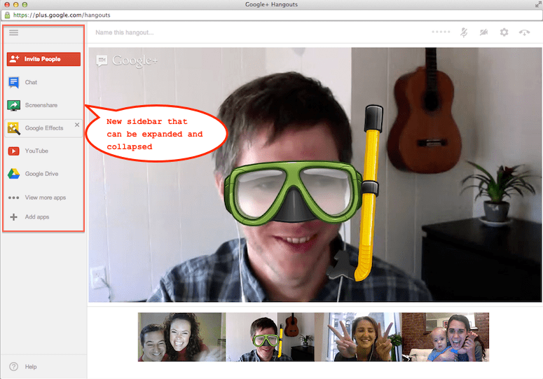 Google+ Hangouts Now Allow Up to 15 Users for Businesses, Governments and Schools!