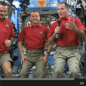 ISS space new year 2013 video!