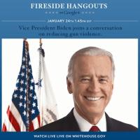 vice president google+ hangout jan 24th 2013