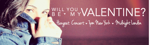 Google+ Valentine's Day Hangout Concert by Daria Musk